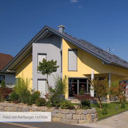 Haus von Karlburger Holzbau