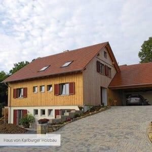 Haus von Karlburger Holzbau modern