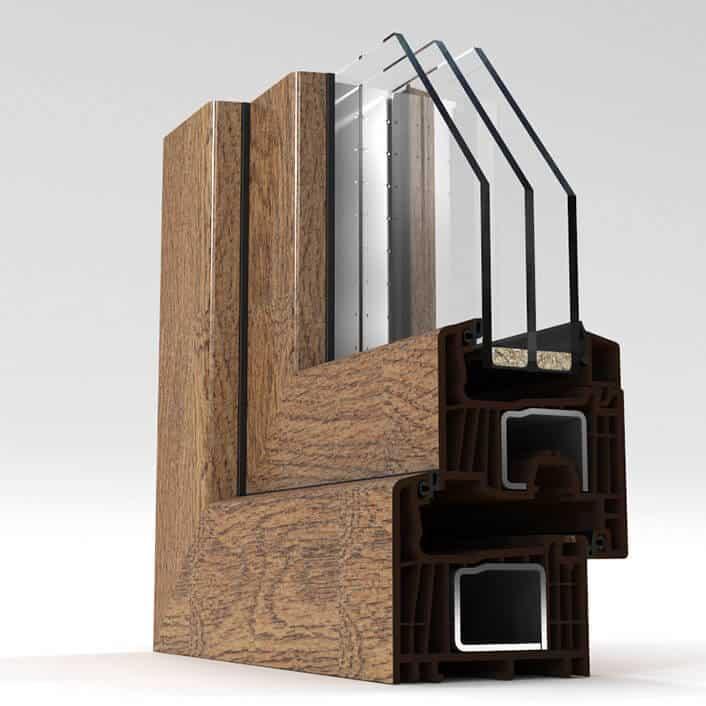 fensterprofil farben farbfolien kunststofffenster. Black Bedroom Furniture Sets. Home Design Ideas