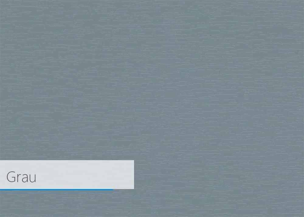 Fensterprofil Farbe - Grau