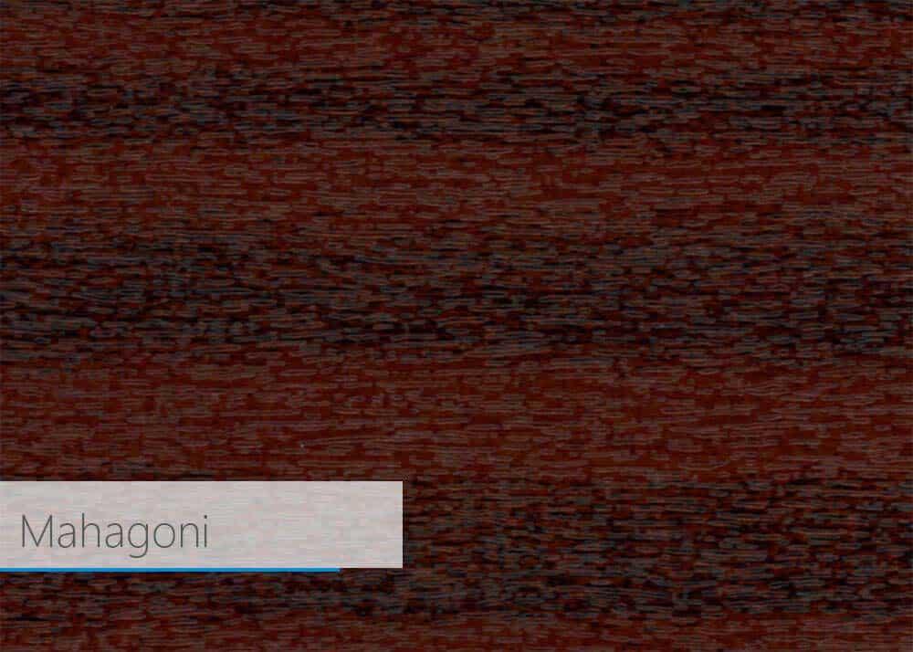 Fensterprofil Farbe - Mahagoni