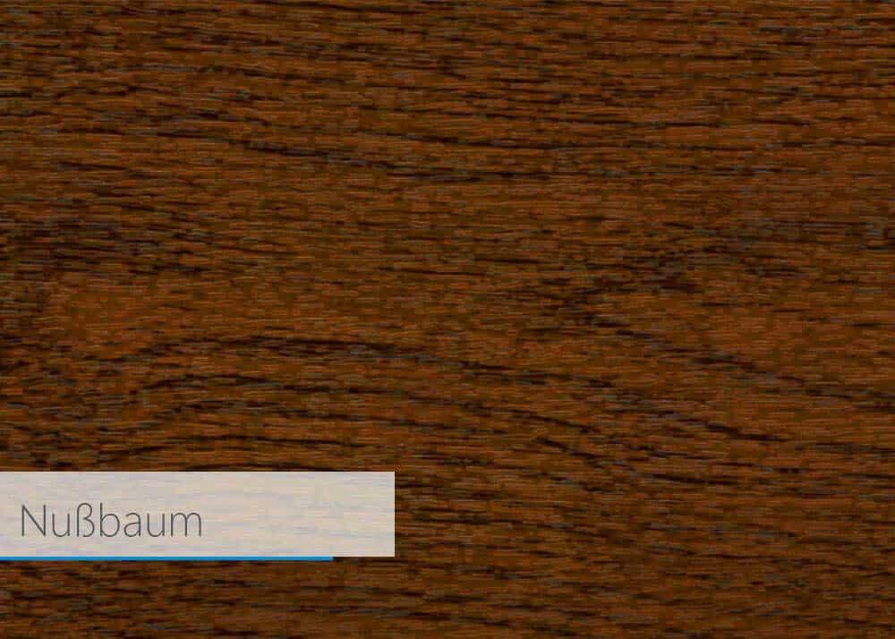 Farbfolie für Kunstsoff-Profil - Nussbaum