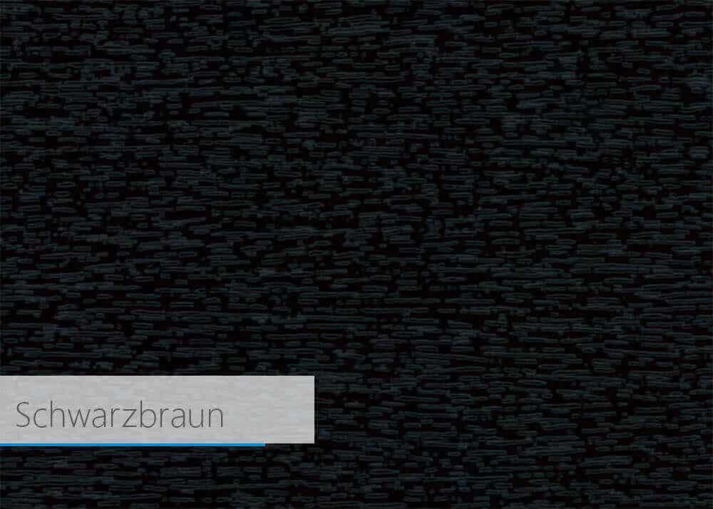 Farbfolie für Kunststoff-Profil - Schwarzbraun