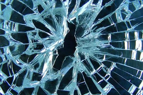 sicherheitsglas button - Glas / Ornamentglas