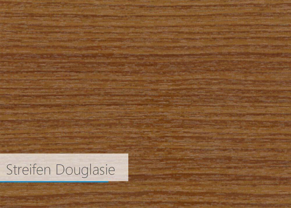 Farbfolie für Kunststoff-Profil - Streifen Douglasie