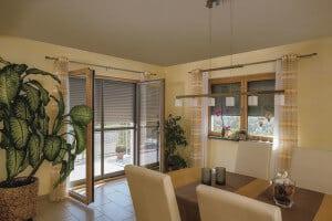 Fenster-Rollladen Wohnbereich