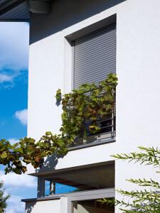 Fenster-Rollladen Außenbereich