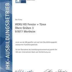 ihk ausbildungsbetrieb 250x250 - Zertifikate und Auszeichnungen