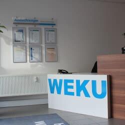 WEKU Ausstellung Nürnberg - Empfangstresen