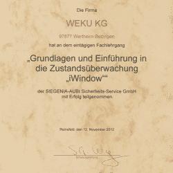 Urkunde iWindow