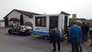 Mobiler Ausstellungswagen von WEKU