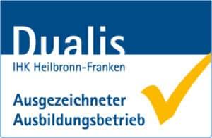 Dualis Logo - Ausgezeichneter Ausbildungsbetrieb