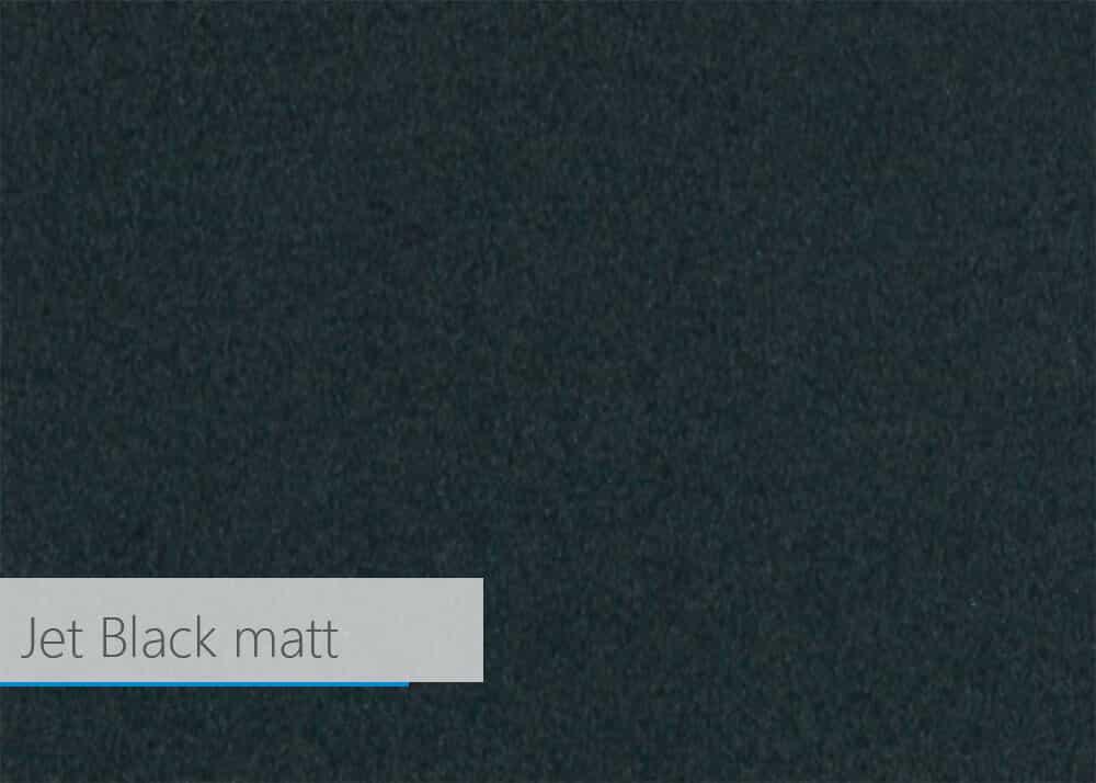 jet black matt - Farben und Dekore